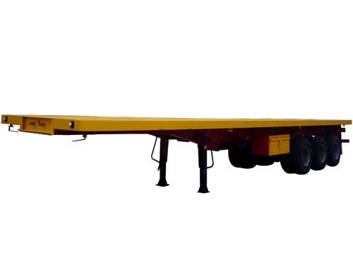 低平板半挂车